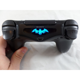 Playstation 4 Ps4 Controller Batman city Light bar Decal Stickers 2 Qty