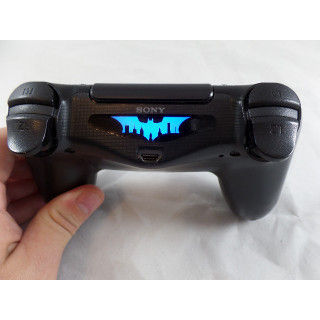 PS4 Batman over Gotham Controller Light Bar Decal Sticker
