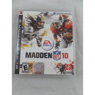 PS3 Playstation 3 Madden 10 NFL Football