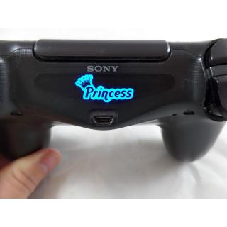 Playstation PS4 Controller Princess Light Bar Decal