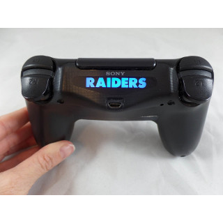 Playstation 4 Ps4 Oakland Raiders Light bar Decal Stickers