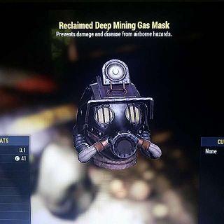 Apparel | Reclaimed Mining Mask