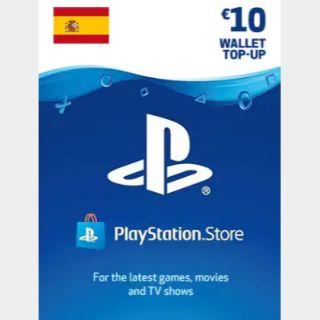 €10.00 PlayStation Store SPAIN 𝐀𝐔𝐓𝐎 𝐃𝐄𝐋𝐈𝐕𝐄𝐑𝐘 ✔ ESPAÑA ESP EUR EURO PSN PLAY STATION