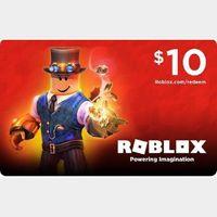 $10.00 ROBLOX 𝐀𝐔𝐓𝐎𝐃𝐄𝐋𝐈𝐕𝐄𝐑𝐘 ✔