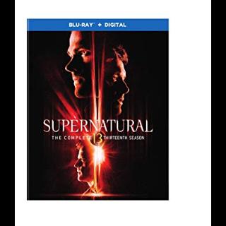 Supernatural The Complete 13th Thirteenth Season HD Vudu