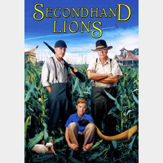 Secondhand Lions SD VUDU / Movies Anywhere