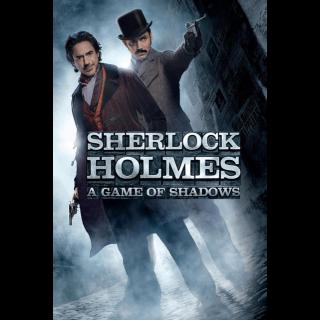 Sherlock Holmes: A Game of Shadows HD Movies Anywhere / VUDU