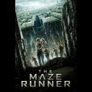 The Maze Runner HD Vudu / MoviesAnywhere