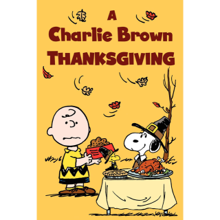 A Charlie Brown Thanksgiving HD Vudu