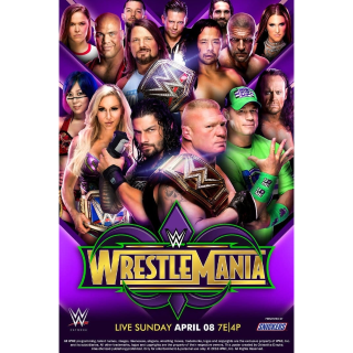WWE WrestleMania 34 SD VUDU / Movies Anywhere
