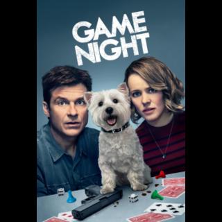 Game Night HD VUDU / Movies Anywhere