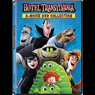 Hotel Transylvania 1, 2, and 3 SD VUDU / Movies Anywhere