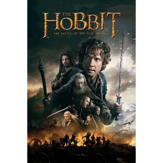 The Hobbit: The Battle of the Five Armies HD Vudu / MoviesAnywhere