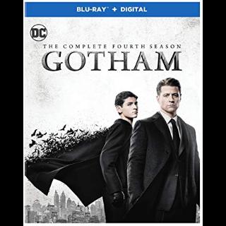 Gotham The Complete Fourth Season HD Vudu