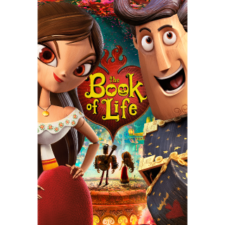 The Book of Life HD VUDU / Movies Anywhere