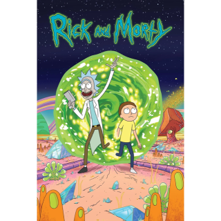 Rick and Morty The Complete Season 3 HD VUDU