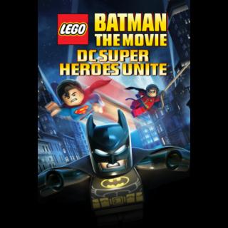 Lego Batman: The Movie - DC Super Heroes Unite HD VUDU / Movies Anywhere