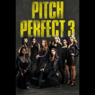 Pitch Perfect 3 HD Vudu / Moviesanywhere