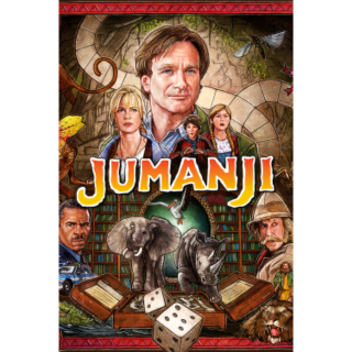 Jumanji 4K VUDU / Movies Anywhere