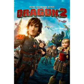 How to Train Your Dragon 2 HD VUDU / Movies Anywhere