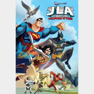 JLA Adventures: Trapped in Time HD Movies Anywhere