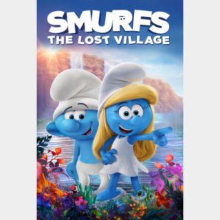 Smurfs: The Lost Village HD Vudu / MoviesAnywhere