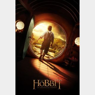The Hobbit: An Unexpected Journey HD Vudu / MoviesAnywhere
