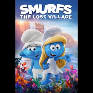 Smurfs: The Lost Village 4K MoviesAnywhere