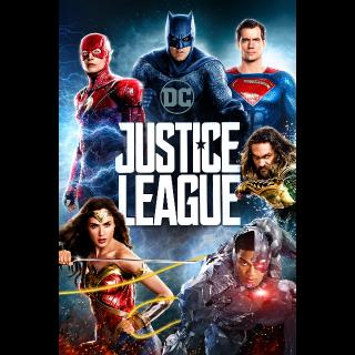 Justice League 4K Vudu / MoviesAnywhere