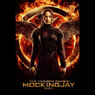 The Hunger Games: Mockingjay - Part 1 Vudu
