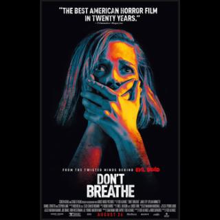 Don't Breathe SD VUDU/ Movies Anywhere