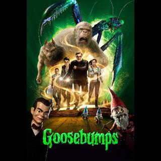 Goosebumps HD Vudu / MoviesAnywhere