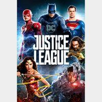 Justice League HD Vudu / MoviesAnywhere