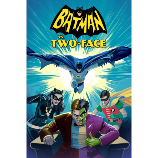Batman vs. Two-Face HD Vudu / MoviesAnywhere