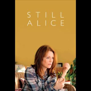 Still Alice SD Movies Anywhere / VUDU