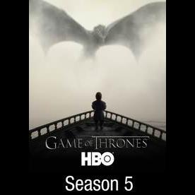 Game of Thrones The Complete Fifth 5th Season HD Vudu iTunes hbodigitalhd.com
