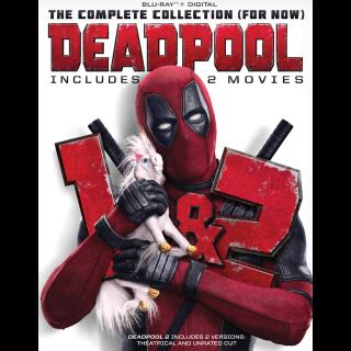 Deadpool 1 & 2 HD VUDU / Movies Anywhere