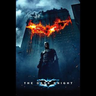 The Dark Knight HD  Vudu / MoviesAnywhere