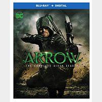 Arrow The Complete Sixth 6th Season HD Vudu