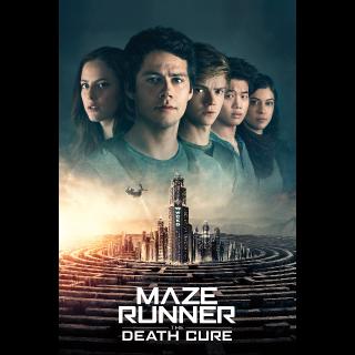 Maze Runner: The Death Cure HD Vudu / MoviesAnywhere
