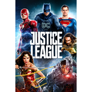Justice League 4K MoviesAnywhere
