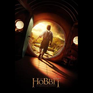 The Hobbit: An Unexpected Journey HD Vudu / MoviesAnywhere