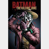 Batman: The Killing Joke HD Vudu / MoviesAnywhere