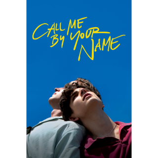 Call Me by Your Name HD Vudu / MoviesAnywhere