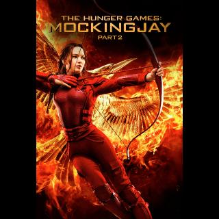 The Hunger Games: Mockingjay - Part 2 Vudu