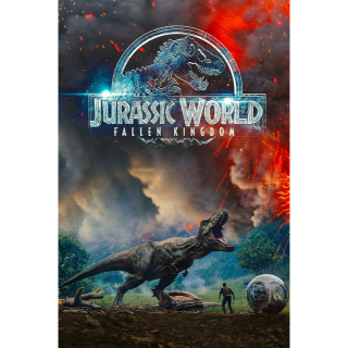 Jurassic World: Fallen Kingdom 4K VUDU / Movies Anywhere