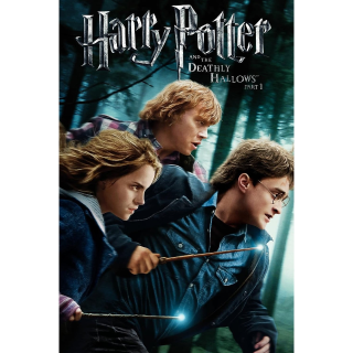 Harry Potter and the Deathly Hallows: Part 1 HD VUDU / MoviesAnywhere
