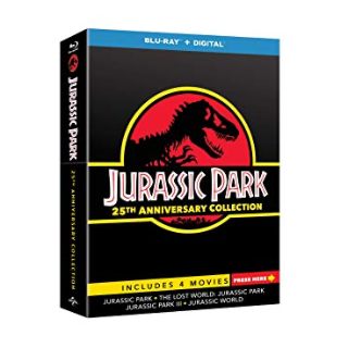 Jurassic park 25th Anniversary Collection HD Movies Anywhere / VUDU