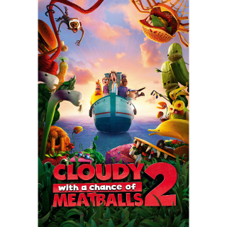Cloudy with a Chance of Meatballs 2 SD Vudu / MoviesAnywhere