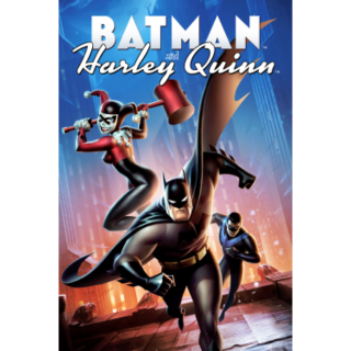 Batman and Harley Quinn HD Vudu / MoviesAnywhere